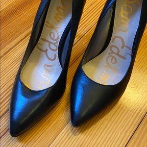 "Classic black Sam Edelman 3.5"" heels"